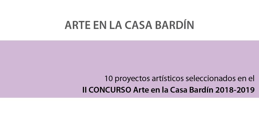 II Concurso Arte en la Casa Bardín