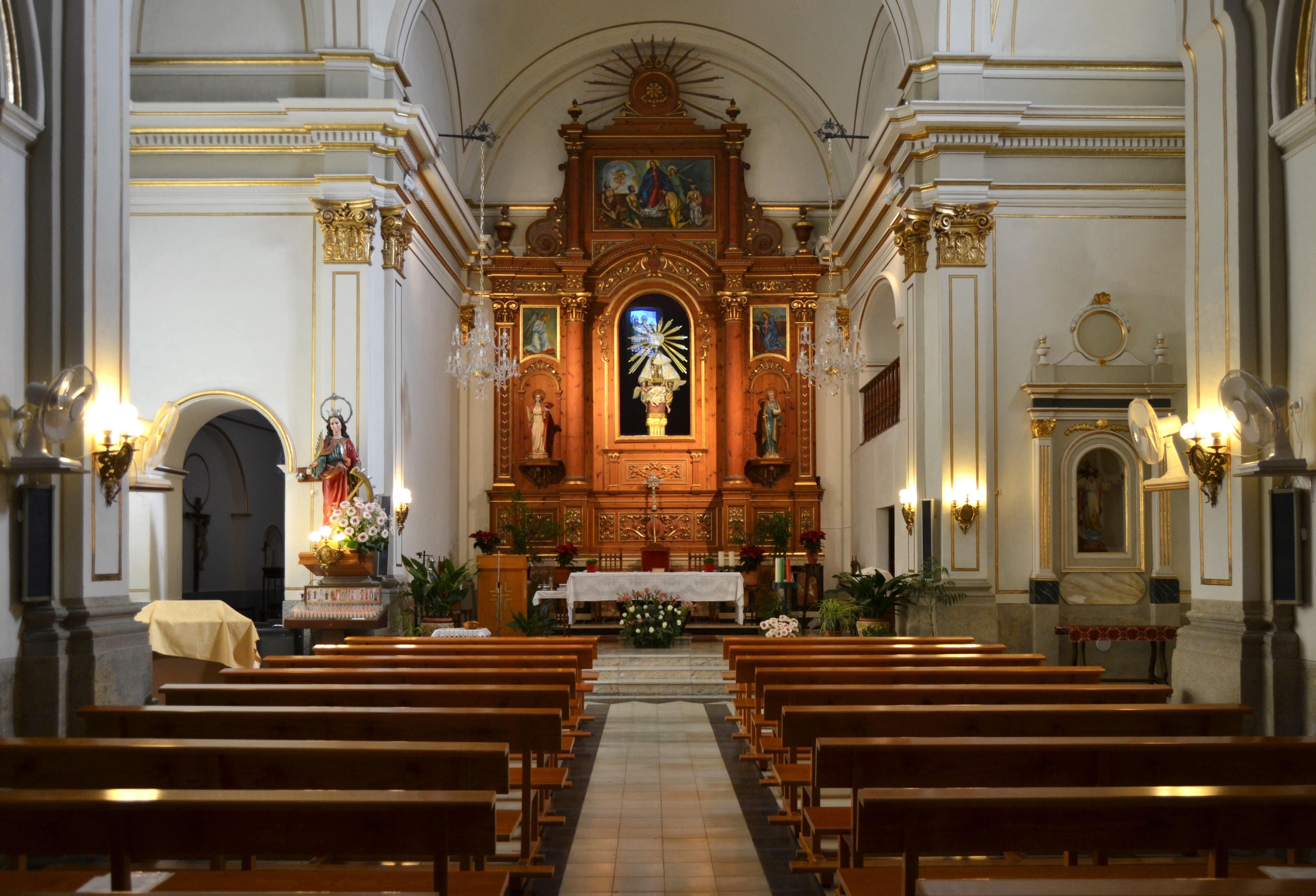 Iglesia Santa Catalina Mártir, Senija