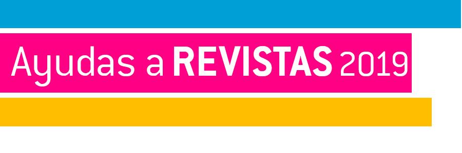 Ayudas a Revistas 2019