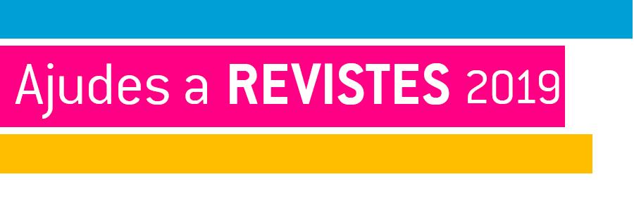 Ajudes a Revistes 2019