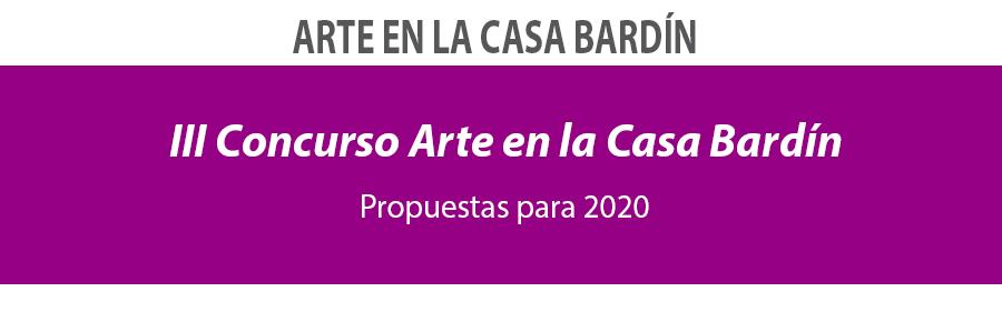 III Concurso Arte en la Casa Bardín
