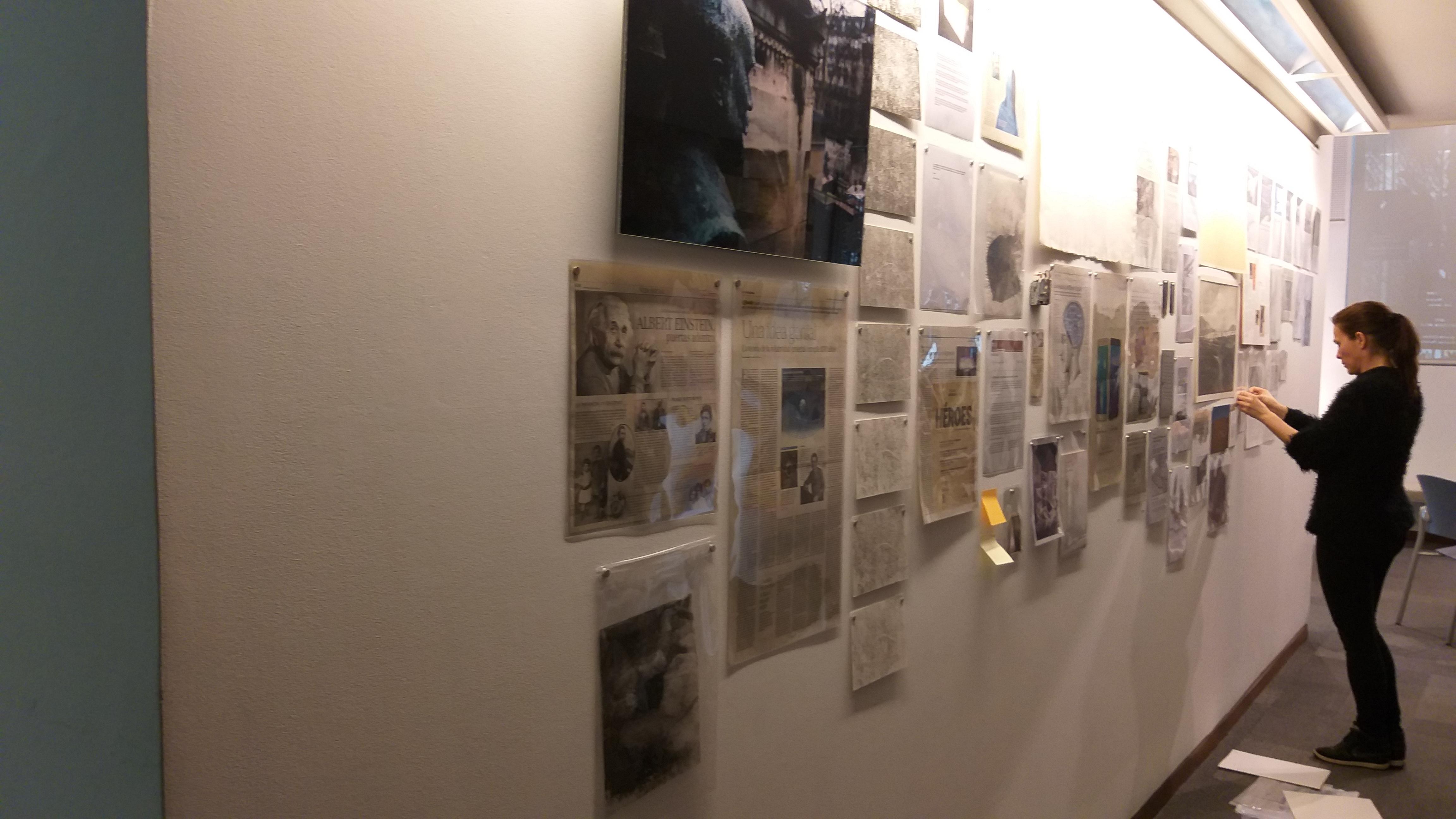 Rosell Meseguer inaugura la nova exposició d'Art a la Casa Bardín