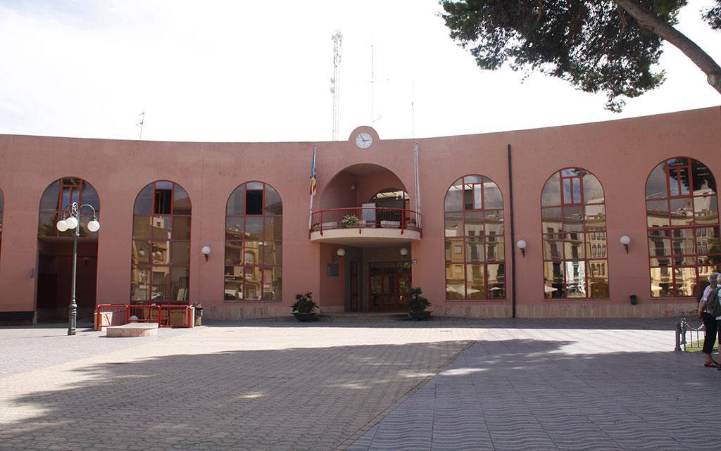 Salón de Plenos del Ayuntamiento de Teulada