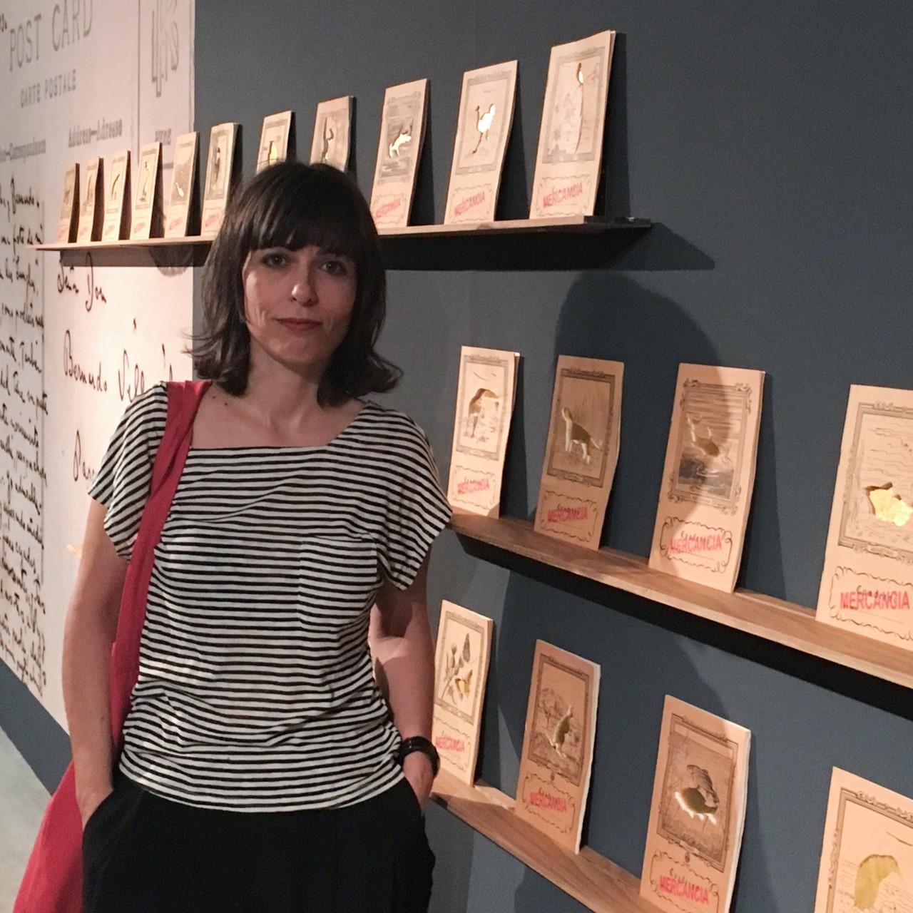 La artista Luisa Pastor presenta en la Casa Bardín su último proyecto expositivo comisariado por Pilar Tébar