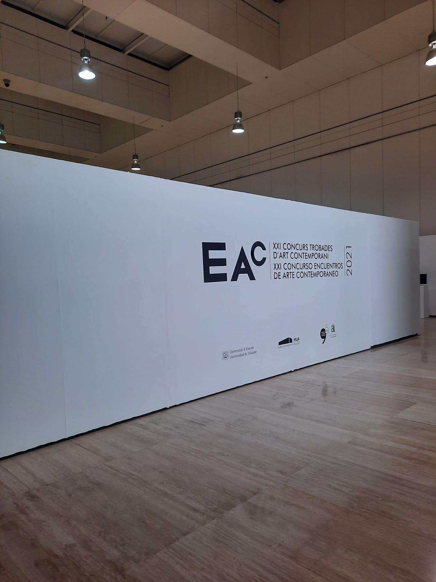 L'Institut Juan Gil-Albert i la Universitat d'Alacant inauguren el XXI Concurs Trobades d'Art Contemporani