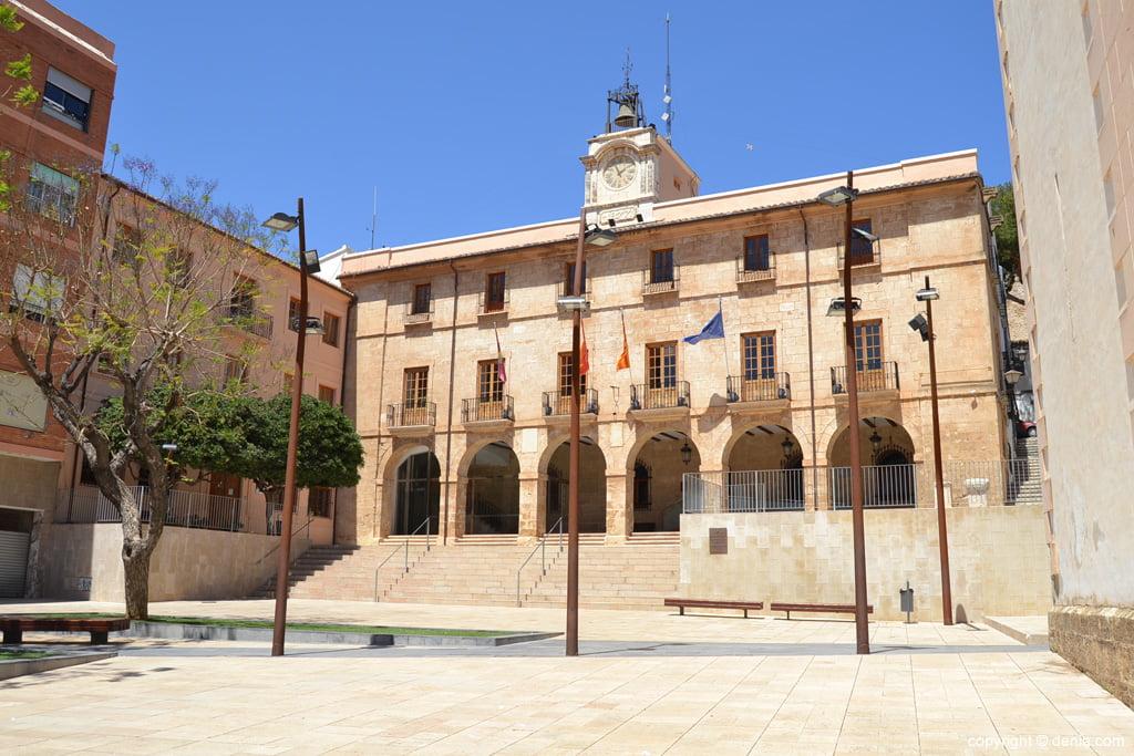 Salón de Plenos del Ayuntamiento de Dénia