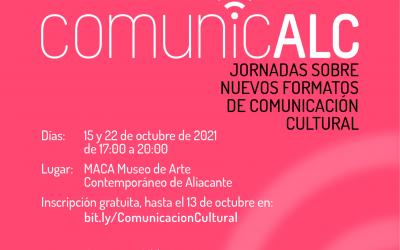 El Instituto Gil-Albert organiza las primeras jornadas sobre los nuevos formatos de comunicación cultural